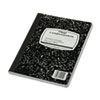 MEA09910 Black Marble Composition Book, Wide Rule, 9-3/4 x 7-1/2, 100 Sheets MEA 09910