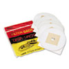 MEVDV5PBRP Disposable Bags for Pro Cleaning Systems, 5/Pack MEV DV5PBRP