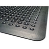MLL24020300 Flex Step Rubber Anti-Fatigue Mat, Polypropylene, 24 x 36, Black MLL 24020300