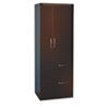 MLNAPST2LDC Aberdeen Personal Storage Tower, Box 2 Of 2, 24w x 24d x 68¾h, Mocha MLN APST2LDC