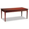 MLNLTD72C Luminary Series Wood Veneer Table Desk, 72w x 36d x 29h, Cherry MLN LTD72C