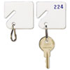 SteelMaster® Slotted Rack Key Tags | www.SelectOfficeProducts.com