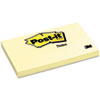MMM655YW Original Notes, 3 x 5, Canary Yellow, 12 100-Sheet Pads/Pack MMM 655YW