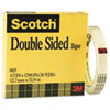 MMM665121296 Double Sided Office Tape, 1/2