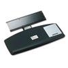 MMMAKT60LE Knob Adjust Keyboard Tray, Standard Platform, Black MMM AKT60LE
