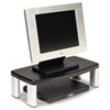 MMMMS90B Extra-Wide Adjustable Monitor Stand, Black MMM MS90B
