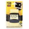 Post-it Pop-up Notes Super Sticky Pop-Up Dispenser with 2 x 2 Canary Yellow Notes