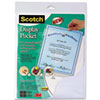 Scotch Adhesive Display Pocket