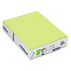 MOW101261 BriteHue Multipurpose Colored Paper, 20lb, 8-1/2 x 11, Ultra Lime, 500 Shts/Rm MOW 101261