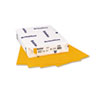 MOW103895 BriteHue Multipurpose Colored Paper, 24lb, 8-1/2 x 11, Gold, 500 Sheets/Ream MOW 103895