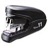 MXBHD11FLKBK Flat Clinch Light Effort Stapler, 35-Sheet Capacity, Black MXB HD11FLKBK