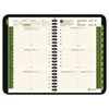 AAG70100G05 Recycled Weekly/Monthly Appointment Book, Black, 4 7/8