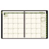 "AAG70120G60 Recycled Monthly Planner, Green, 6 7/8"" x 8 3/4"", 2015 AAG 70120G60"