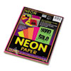 PAC104331 Array Colored Bond Paper, 24lb, 8-1/2 x 11, Assorted Neon, 100 Sheets/Pack PAC 104331