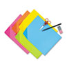 PAC1709 Colorwave Super Bright Tagboard, 9 x 12, Assorted Colors, 100 Sheets/Pack PAC 1709