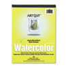 PAC4910 Artist Watercolor Paper Pad, 9 x 12, White, 12 Sheets/Pad PAC 4910