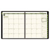 "AAG70260G60 Recycled Monthly Planner, Green, 9"" x 11"", 2015-2016 AAG 70260G60"