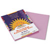PAC7103 Construction Paper, 58 lbs., 9 x 12, Lilac, 50 Sheets/Pack PAC 7103