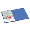 PACP7412 Peacock Sulphite Construction Paper, 76 lbs., 12 x 18, Blue, 50 Sheets/Pack PAC P7412