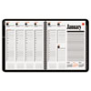 AAG7086405 Recycled 800 Range Weekly/Monthly Appointment Book, 8-1/2 x 11, Black, 2015 AAG 7086405