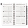 AT-A-GLANCE Executive Pocket Size Weekly Planner Refill