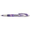 PAP21005BH Liquid Flair Porous Point Stick Pen, Purple Ink, Medium, Dozen PAP 21005BH