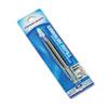 PAP4912431PP Refill for Aspire, PhD, PhD Ultra Ballpoint, Medium, Blue Ink, 2/Pack PAP 4912431PP