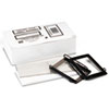 Panter Company Spring-Lock Metal Label Holders for Binders