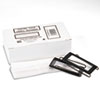 Panter Company Spring-Lock Metal Label Holders for Binders | www.SelectOfficeProducts.com