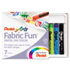 Pentel Fabric Fun Pastel Dye Sticks