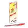 PIL37011 Better Ballpoint Stick Pen, Red Ink, Fine, Dozen PIL 37011