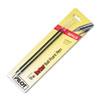 PIL77217 Refill, Non-retract Better/BetterGrip/EasyTouch Ballpoint, Fine, Red, 2/Pack PIL 77217