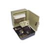 PMC04982 Key Cabinet/Drawer Safe, 10-Key, Steel, Pebble Beige, 6 3/4 x 6 7/8 x 3 PMC 04982