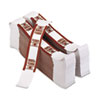 PMC55033 Color-Coded Kraft Currency Straps, $50 Bill, $5000, Self-Adhesive, 1000/Pack PMC 55033