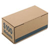 PMC61005 Corrugated Cardboard Coin Storage w/Denomination Printed On Side, Blue PMC 61005