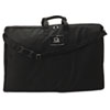 QRT156366 Tabletop Display Carrying Case, Canvas, 18 1/2w x 2 3/4d x 30h, Black QRT 156366