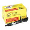 QRT50012M EnduraGlide Dry Erase Markers, Black, Dozen QRT 50012M