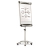 QRTEU2000TE Premium Mobile Magnetic Dry Erase Easel, 27 x 41, White QRT EU2000TE