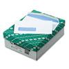 QUA21012 Window Envelope, Address Window, Contemporary, #8 5/8, White, 500/Box QUA 21012