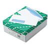 QUA21412 Window Envelope, Address Window, Traditional, #10, White, 500/Box QUA 21412