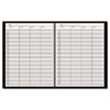 AAG8031005 Recycled Four-Person Group Undated Daily Appointment Book, 8-1/2 x 11, Black AAG 8031005