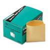 QUA62273 Library Book Card Pockets with Ungummed Backs, Cameo Buff, 250/Box QUA 62273