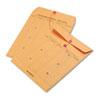 QUA63560 Brown Recycled Kraft String & Button Interoffice Envelope, 10 x 13, 100/Carton QUA 63560