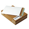 QUA64016 Photo/Document Mailer, Redi-Strip, Side Seam, 11 x 13 1/2, White, 25/Box QUA 64016