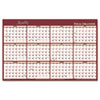 AT-A-GLANCE® Reversible Horizontal Erasable Wall Planner | www.SelectOfficeProducts.com