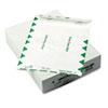 QUAR3130 White Leather Tyvek Mailer, First Class, 9 x 12, White, 100/Box QUA R3130