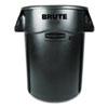 RCP264360BK Brute Vented Trash Receptacle, Round, 44 gal, Black RCP 264360BK