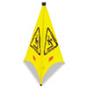 Rubbermaid Commercial Multilingual Pop-Up Safety Cone