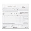 RED44302 Bill of Lading Short Form, 8 1/2 x 7, Four-Part Carbonless, 250 Forms RED 44302