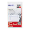 RED4K409 Employee Time Card, Weekly, 4-1/4 x 7, 100/Pad RED 4K409